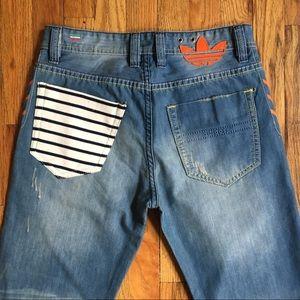 0dae2be6 Diesel Jeans - Diesel x Adidas Adi-Viker Jeans 30 x 34 NWOT